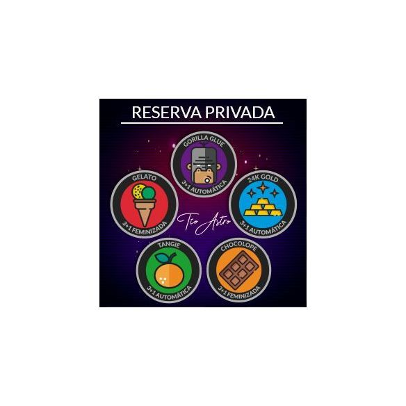 Reserva Privada Del Tio Astro Gelato Fem X3+1