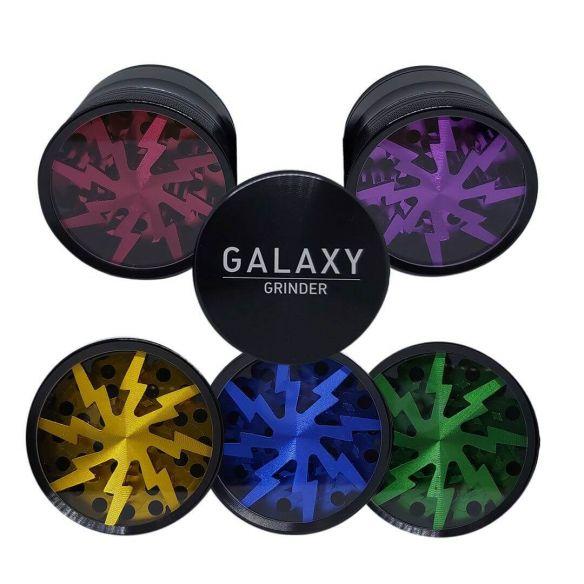 Galaxy Grinder Lightning 4 Partes 63mm