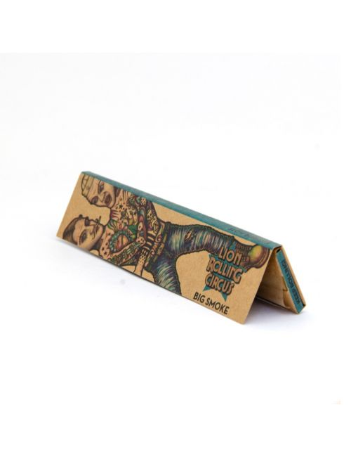 LION ROLLING CIRCUS PAPEL UNBLEACHED KING SIZE