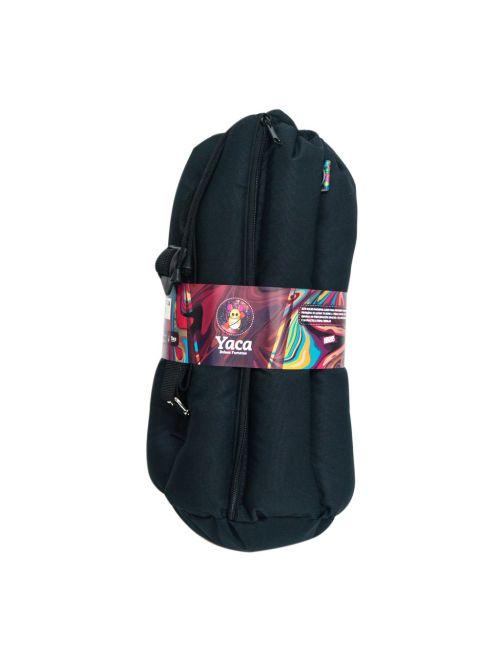 Yaca Bag Bolso 37Cm Negro Ya08