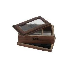 RYOT GLASS TOP BOX CAFE OSCURO