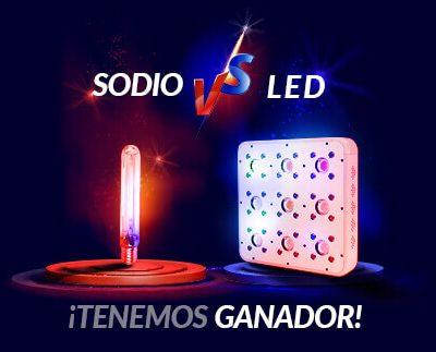 sodio vs led iluminación